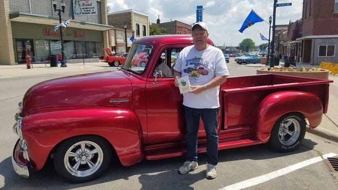 Bruce Anderson of Sunburg took home Best of Show last year with this beautifully customized 1954 Chevrolet pickup.