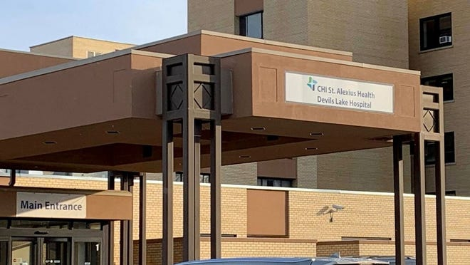 CHI St. Alexius Health Devils Lake Hospital is nearing capacity due to spike in COVID-19 cases in the county and is preparing for max capacity situation.