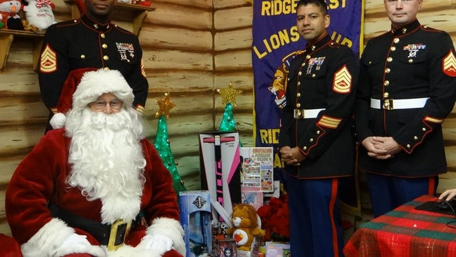 A personalized video with Santa Claus is available for purchase through the Lions Club Facebook page.