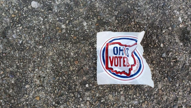 No, this patch of earth did not actually cast a vote.