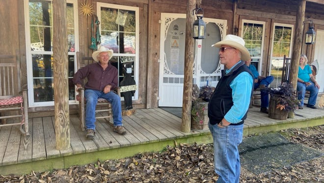 In September, U.S. Rep. Bill Johnson (standing) of Marietta, Ohio, visited the Elkins Creek Horse Camp. But will anyone remember?