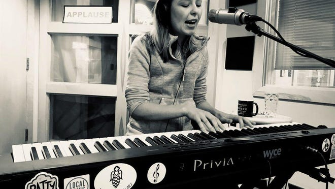 Grand Rapids singer and pianist Sandra Effert returns to Guardian Brewing with her pop-hued music to kick off the holiday weekend.