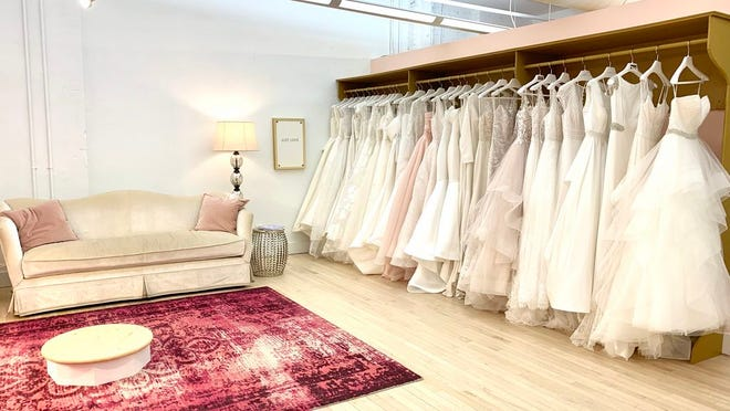 Gilded Social now offers bridal gowns.
