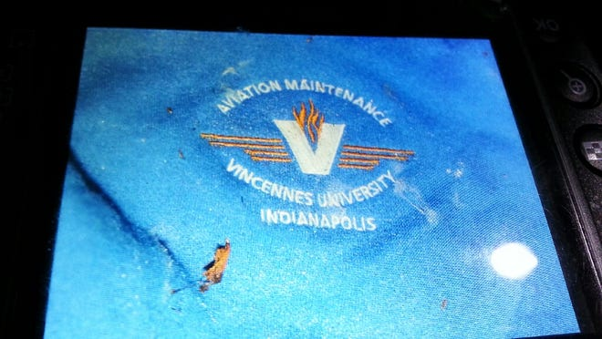 This is the logo on the sweatshirt in which the newborn was found at Eagle Creek Park.