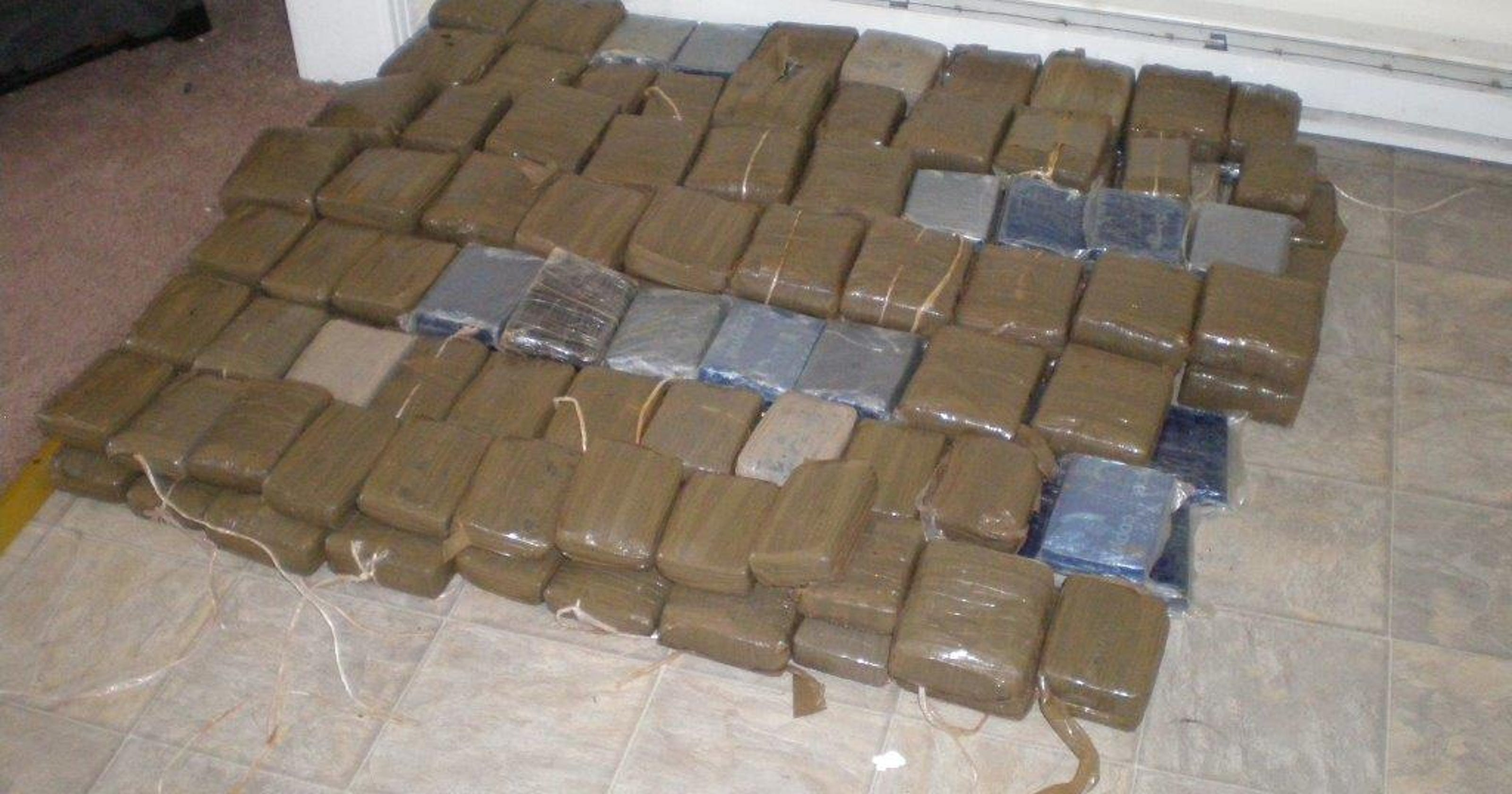 5 arrested, 230 pounds of pot seized in Nashville bust