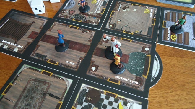 Because Betrayal at House on the Hill uses tiles to build the board, the game is different every time you play.