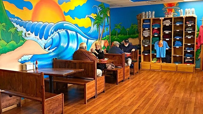 In opening Surf Bagel, Dave Vitella combined his two passions: bagels and surfing.