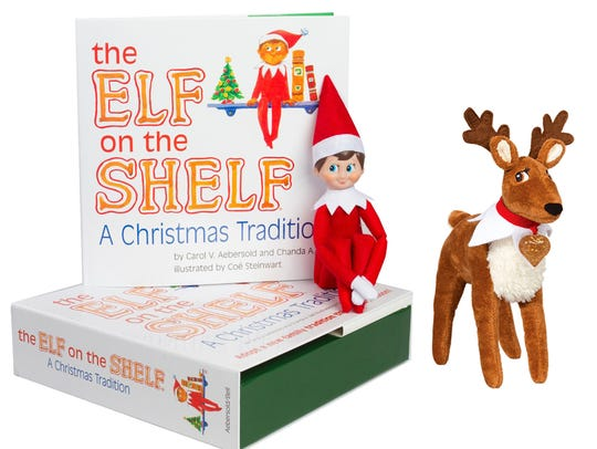 The children's book and doll are available at Caroline