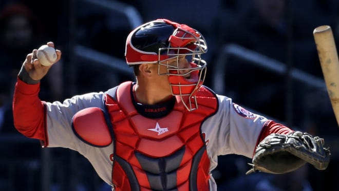 Ramos, the team's No. 1 backstop, was placed on the 15-day disabled list.