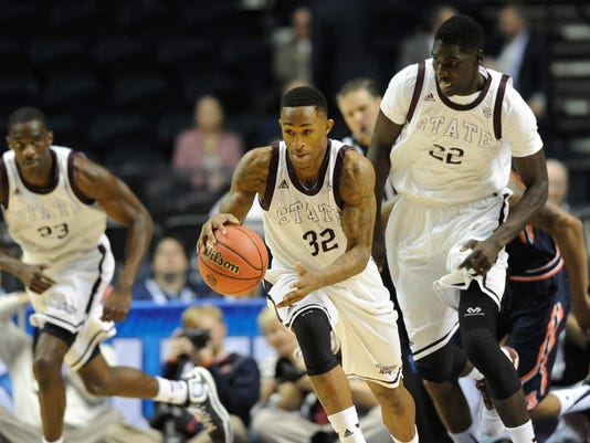 NCAA Basketball: SEC Conference Tournament-Mississippi State vs Auburn