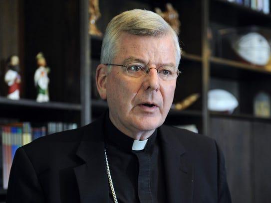 Former St. Paul-Minneapolis Archbishop John Nienstedt.