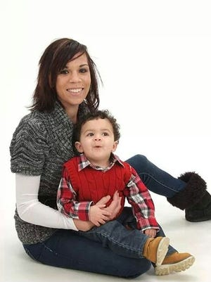 House of Hope graduate Tayler Crallie and her son, Sylas