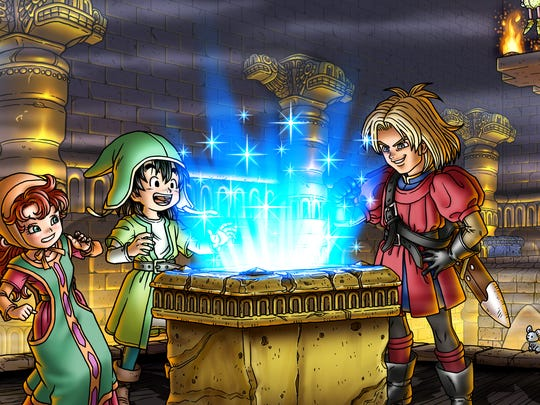 """Dragon Quest VII: Fragments of Forgotten Past"" for the 3DS features several changes from the PlayStation original."