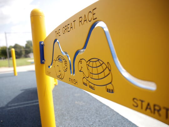 New playground equipment provide a boost to Huntley