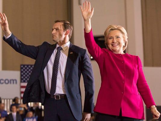 Hillary Clinton, Patrick Murphy