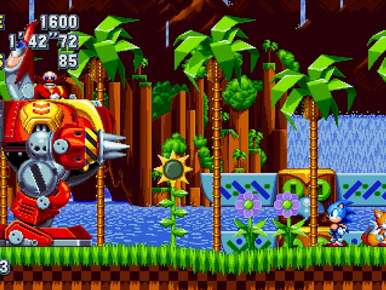 Sonic Mania for PC, PS4, Switch and Xbox One.