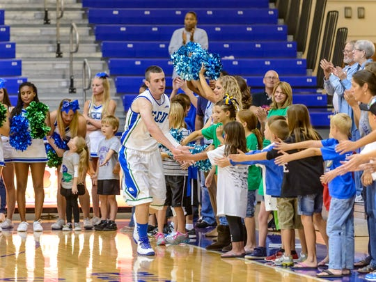 This was the Alico Arena atmosphere before Brett Comer