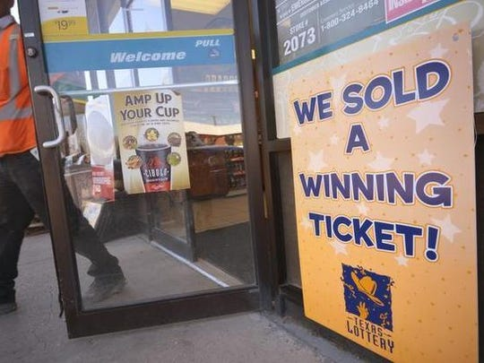 A winning scratch-off Texas lotto ticket was sold at an Eden convenience store.
