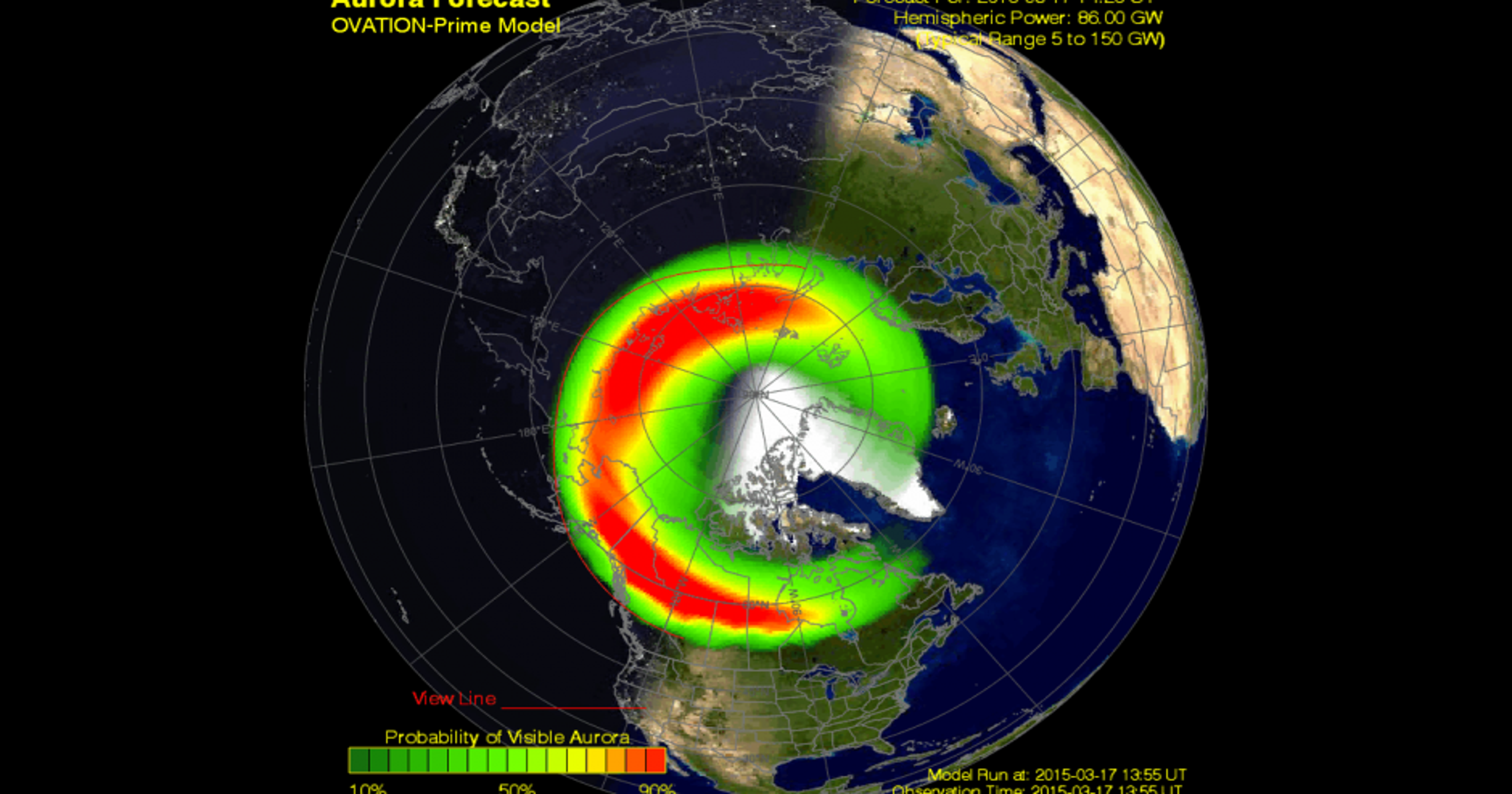 solar storm hitting earth right now - photo #5