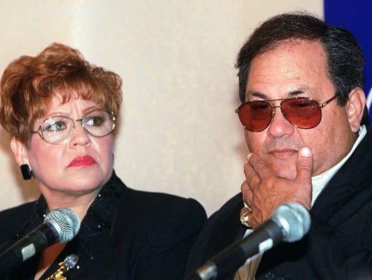 Marcela and Abraham Quintanilla, parents of slain Tejano