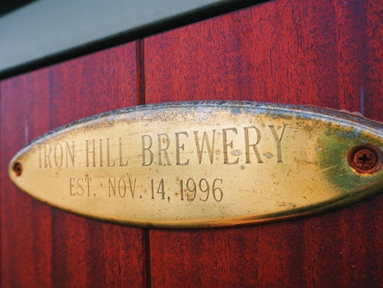 The first Iron Hill Brewery & Restaurant opened on