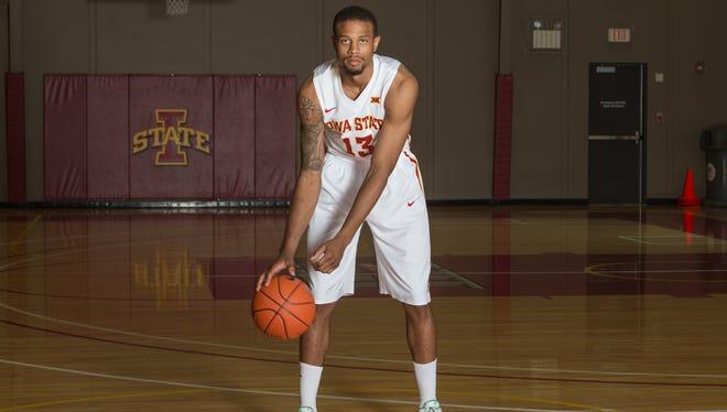 Iowa State basketball player Bryce Dejean-Jones