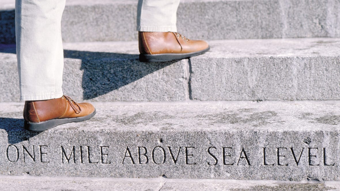 Capitol Steps- One Mile Above Sea Level