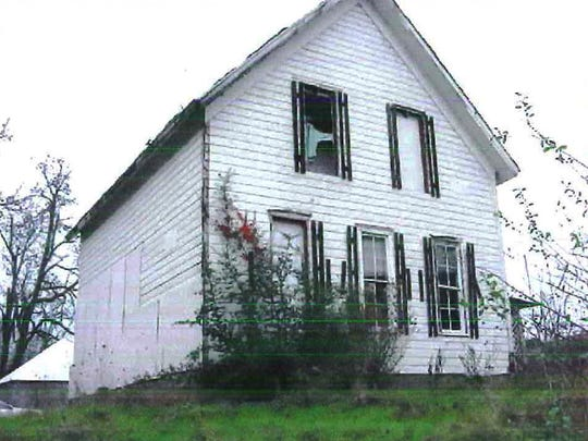 6331 Liberty St. in South Salem before it burned down.
