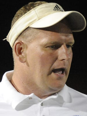 Noblesville coach Jason Simmons was ejected from Friday's game.