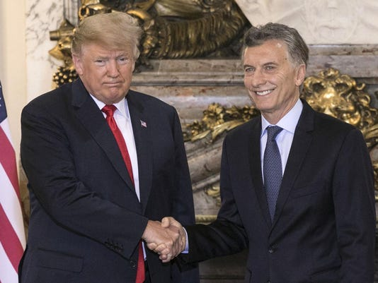 ARGENTINA-G20-SUMMIT-TRUMP