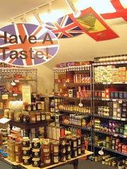 The interior of Made in Britain, Ltd. when open.