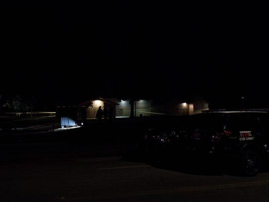 Salinas police investigate a homicide at El Dorado