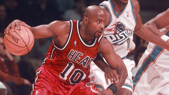 Tim Hardaway against the Pistons in 1999.