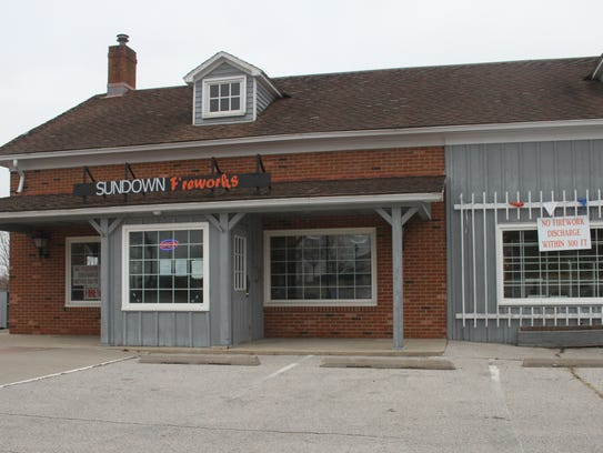 Sundown Fireworks is located at 2203 U Ave., just off