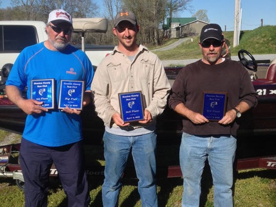 Winners were, first place, David Schmidt with 17 pounds