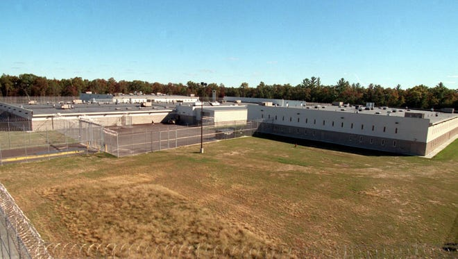 Exterior of Wackenhut Correction Corporation's Michigan Youth Correctional Facility located in Baldwin in 1999.