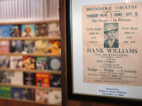 The Hank Williams Museum in downtown Montgomery is