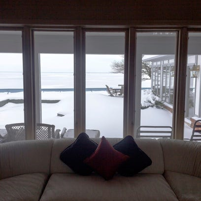 What's special about this lakefront Harrison Township home? View after view after view