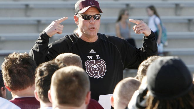 Coach Steckel and the Bears will take on the Chadron State Eagles at 2 p.m. on Saturday.