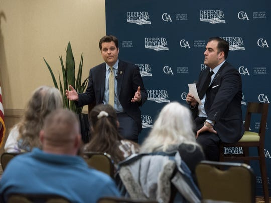 Congressman Matt Gaetz discusses health care issues