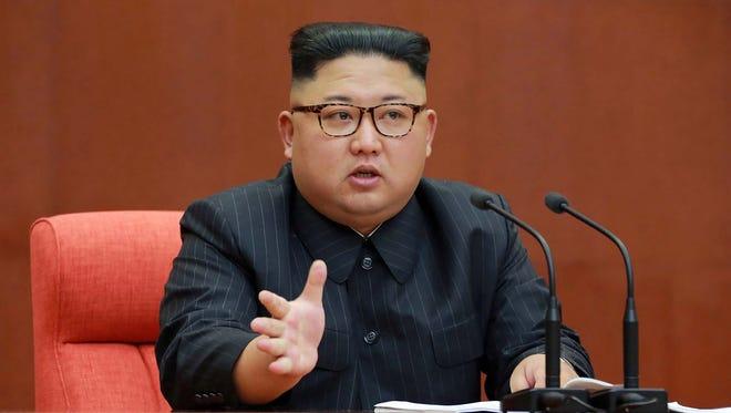 Kim Jong Un, 33 or 34, North Korean Supreme Leader.