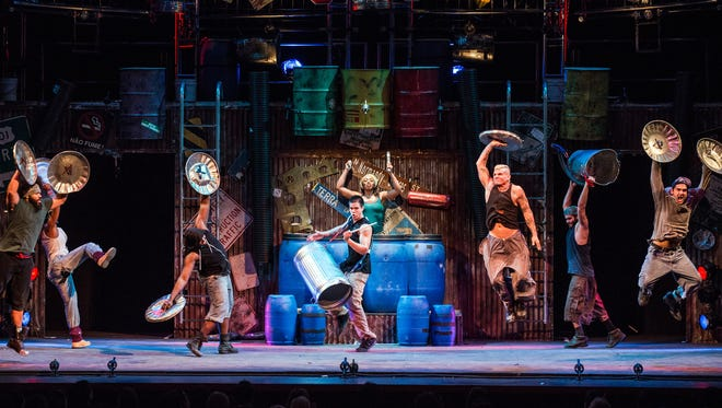 """""""Stomp"""" STOMP will perform Thursday at American Bank Center."""