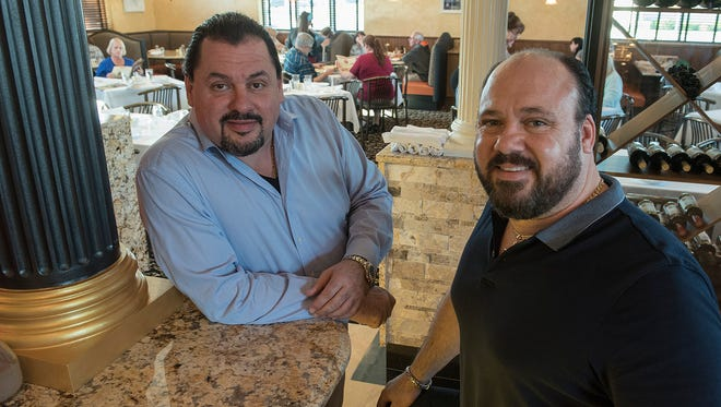 Brothers Anthony and Marco Rugiero are part of the family team running Antonio's.