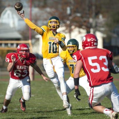 Varsity Football:  Audubon vs. Haddon Township