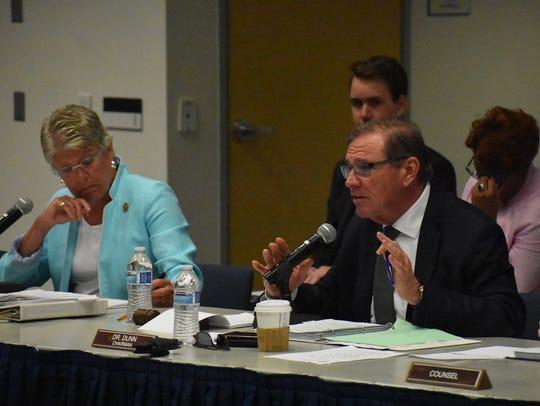 U.S. Rep. Neal Dunn, R-Fla., makes a point during a