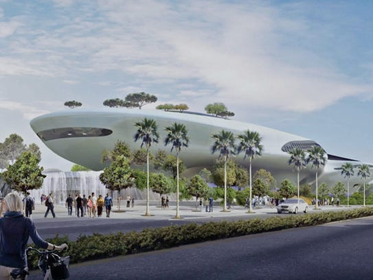 George lucas 39 1 5 billion art museum gets ok from los for Star wars museum california