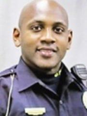 Burlington Police Officer Jesse Hill