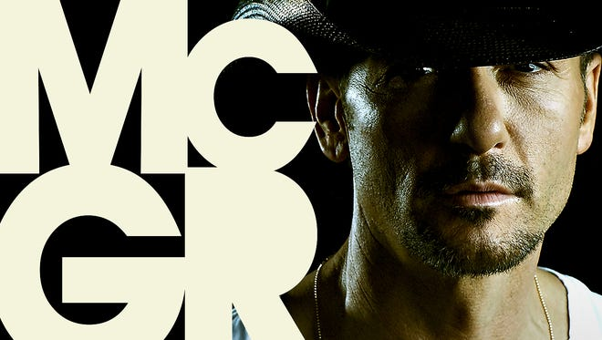 Cover of Tim McGraw's new album 'Sundown Heaven Town,' out Sept. 16.