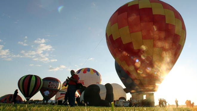 The QuickChek New Jersey Festival of Ballooning last year.