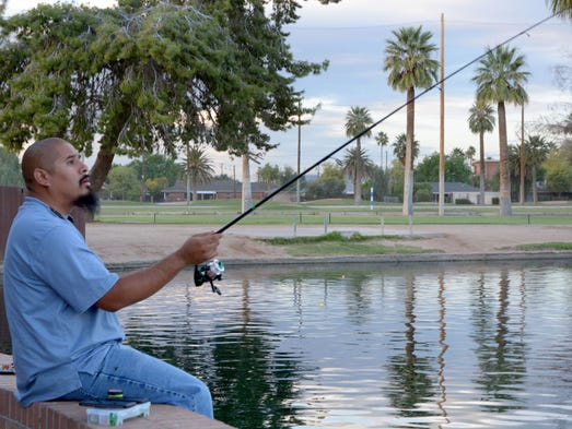 Phoenix area lakes and a waterfall for Rio vista fishing spots